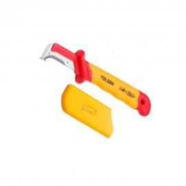 Диэлектрический демонтажный нож 50х185мм Tolsen