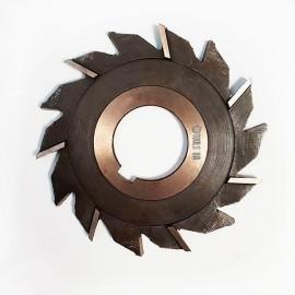 Фреза дисковая трехсторонняя  с разнонаправленными зубьями  63х12х22 Р6М5 USSR