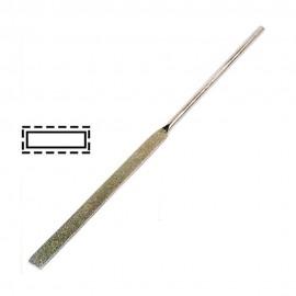 Надфиль с алмазным напылением плоский L160