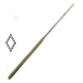 Надфиль с алмазным напылением   ромб L160