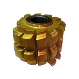 Фреза червячная для шлицевых валов М1.5 Р6М5 №2520-0673