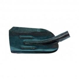 Лопата совковая с ребром жесткости, рейковая сталь, без держака