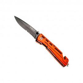 Складной нож Neo Tools 63-026 с фиксатором и чехлом