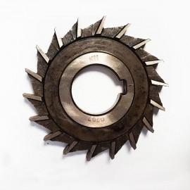 Фреза дисковая  трехсторонняя с равнонаправленным зубом 100х 8х32 тв.спл. ВК8 USSR
