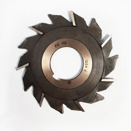 Фреза дисковая трехсторонняя  с разнонаправленными зубьями 100х6х32 Р6М5 USSR